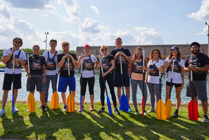 canoe challenge in Cheshire