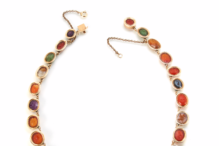 roman necklace auction