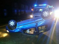 Driver arrested after car crash on Davenport Avenue, Nantwich