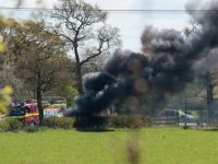 Car bursts into flames at Alvaston Hall, Nantwich