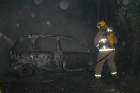 car fire Welsh Row Nantwich