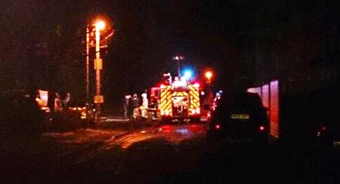 Car fire and explosion rocks Welsh Row in Nantwich