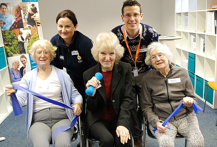 chair classes at Right at Home with ctchealthcare