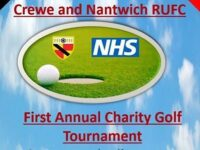 Crewe & Nantwich RUFC to stage NHS fundraising golf event
