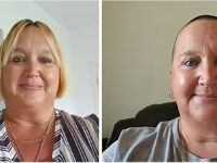Nantwich woman's head shave raises more than £1,000 for charity