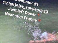 Nantwich woman swims Channel in university fundraiser