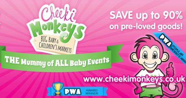 cheeki monkeys baby and children market in Nantwich
