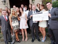 Reaseheath College students raise £10,000 for St Luke's Hospice