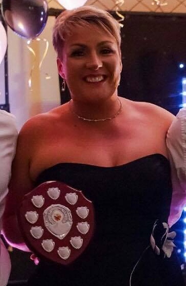 cherie davies club players player of year
