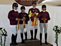 Cheshire Chicks dressage team qualify for national championships