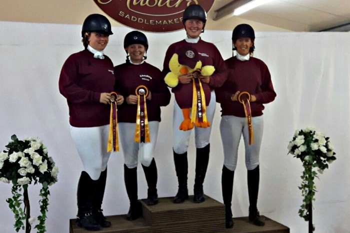 cheshire chicks dressage team