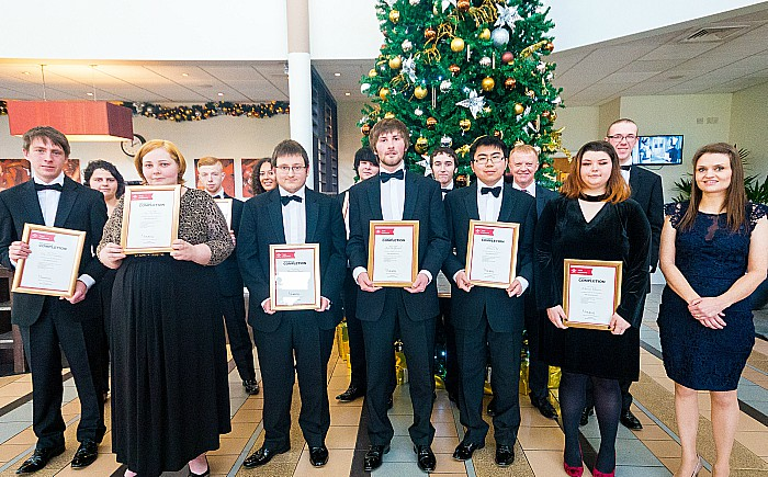 cheshire fire prince's trust graduates