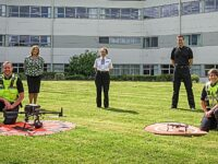 Cheshire Police unveils new crime-tackling drone