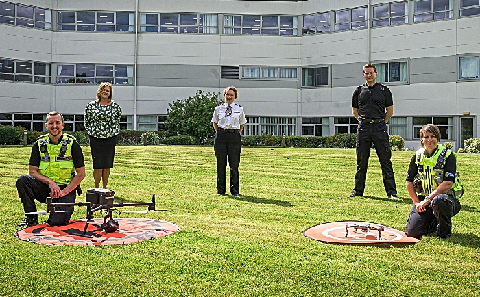 cheshire police new drone