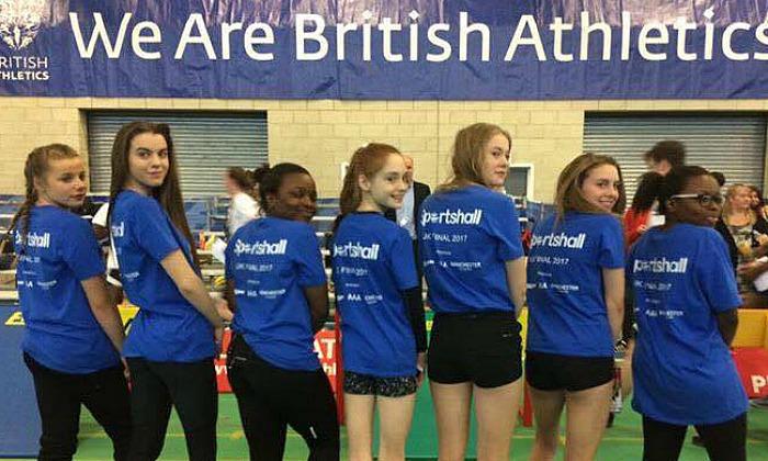 cheshire u15 girls sportshall UK finals