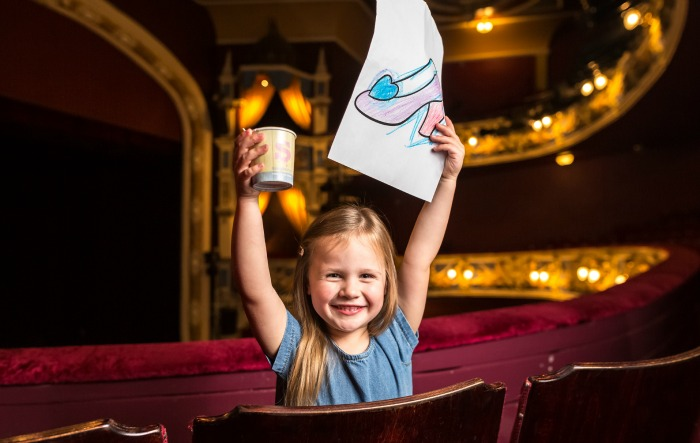 children's colouring competition, Crewe Lyceum pantomime Cinderella
