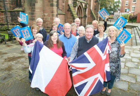 Nantwich Choral Society celebrates 60th anniversary of twin town Macon link