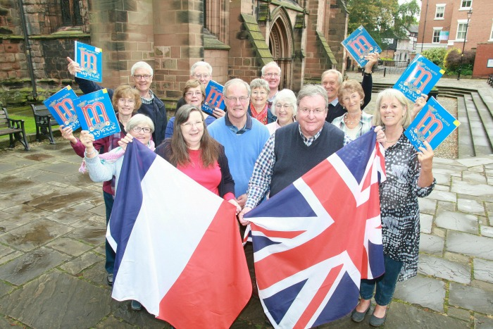 choral society to celebrate 60th anniversary of twin town with Macon