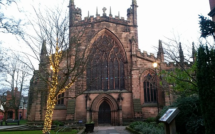 christmas carol concert at St Mary's Church