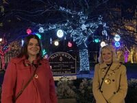 Nantwich Christmas lights are fitting tribute to keyworkers