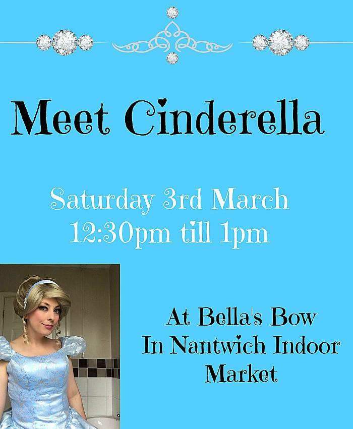Disney - cinderella blue at bellas bows nantwich