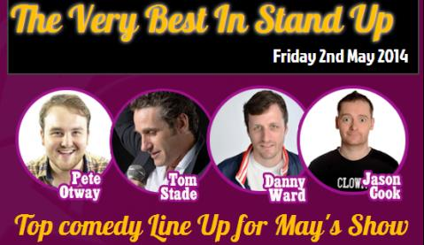 Very Best in Stand Up comedy returns to Nantwich Civic Hall