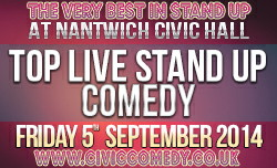 civic comedy advert 125x250