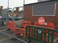 Driver causes Civic Hall damage in Nantwich car park smash