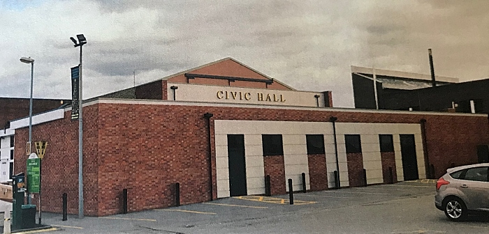 civic hall extension story