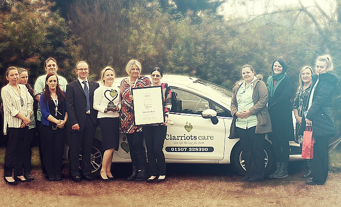 clarriots care provider award
