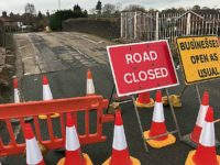Burst water main keeps Rope Lane bridge closed