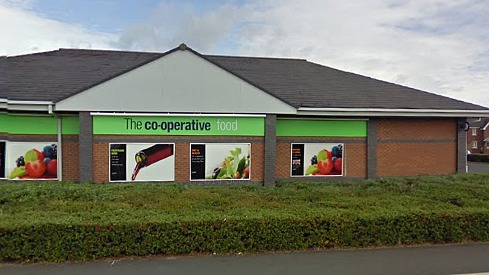 co-op store cronkinson farm, stapeley