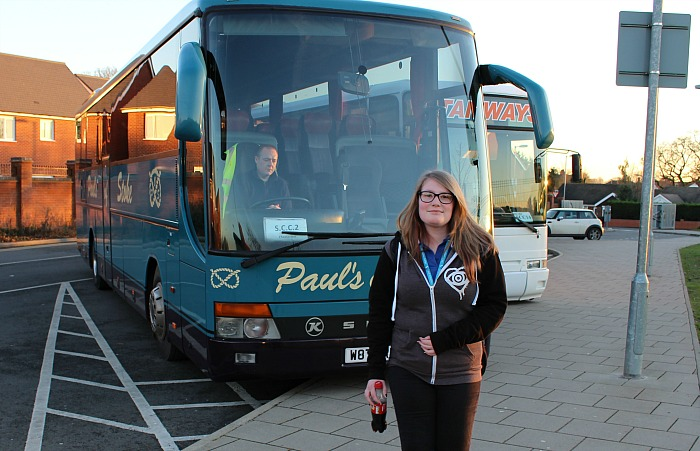college public transport, south cheshire college