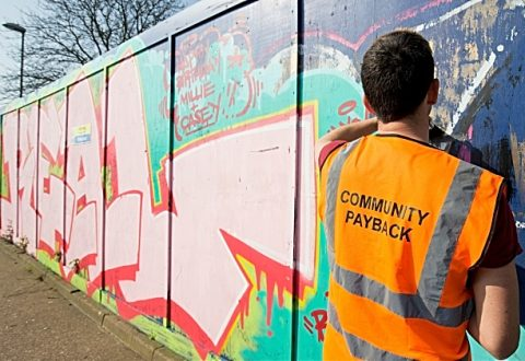 Offenders in Cheshire clock up more than 72,000 community service hours