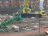 Two men killed after crane collapses on South Cheshire housing development