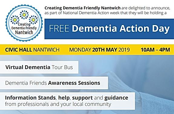 creating dementia friendly nantwich action day