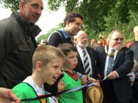 Edward Timpson opens Crewe & Nantwich RUFC's new pitches