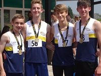Crewe and Nantwich athletes triumph at Cheshire Track Relays