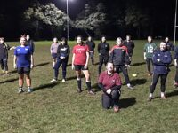 Crewe & Nantwich Ladies rugby players tackle new charity challenge