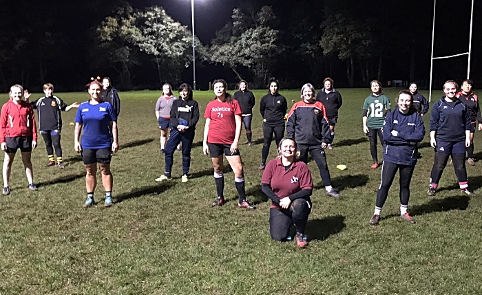 crewe and nantwich ladies burpees for charity