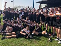 Crewe & Nantwich RUFC celebrate Cheshire Bowl win over Winnington