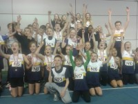 Young Crewe & Nantwich athletes win medals at relay championships