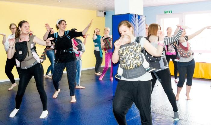 dance baby sling class launched by kate barton