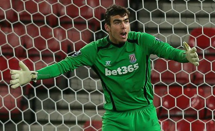 Blyth Spartans defeat - daniel gyollai, on loan nantwich town keeper from Stoke City