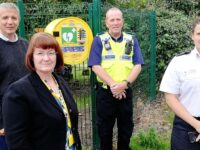 Bridgemere Primary School to store life-saving defribrillator for village
