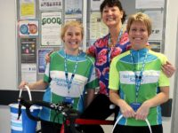 Ride to Remember raises £360 for dementia garden at Leighton Hospital