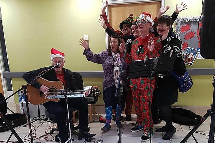 dementia tea dance for mid cheshire hospitals charity