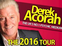 TV medium Derek Acorah to perform at Nantwich Civic Hall