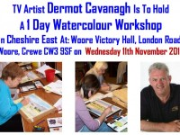 Dermot Cavanagh to stage painting workshop at Woore