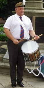 drummer rob richardson - VE Day